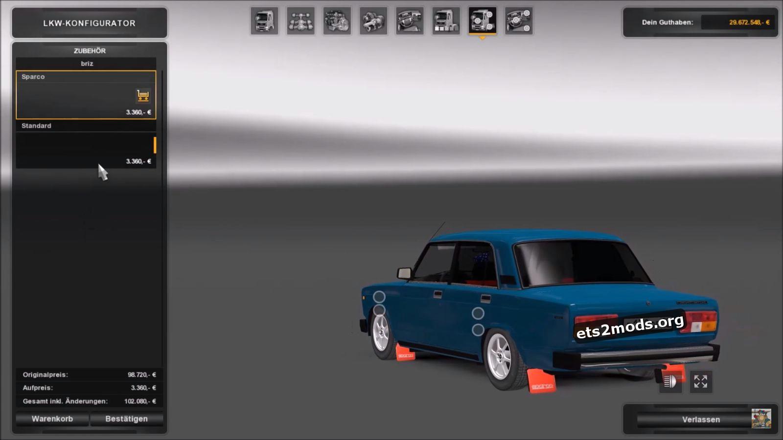 Car - VAZ 2105 (Updated)