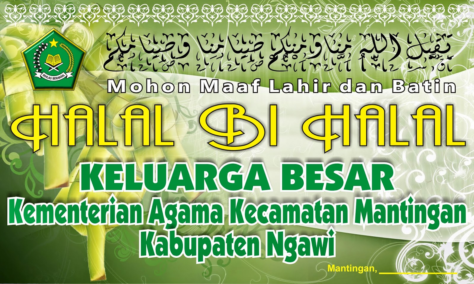 Download Background Halal Bi Halal Kemenag Pesantren Temulus
