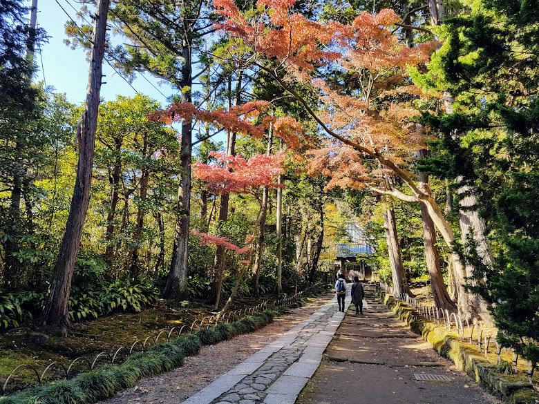 壽福寺入口的另一景