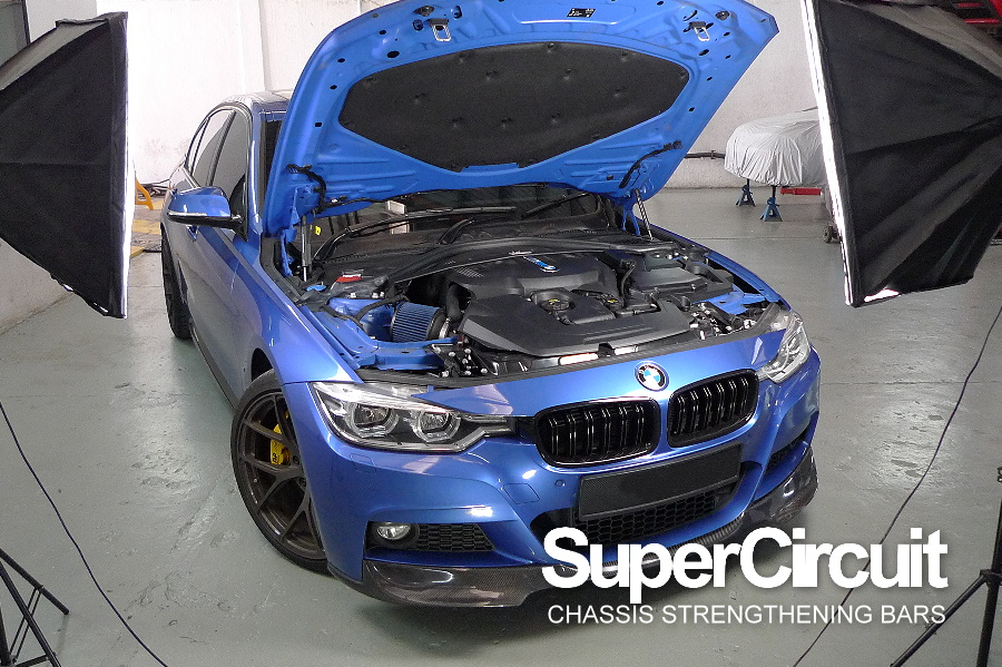 Supercircuit Chassis Strengthening Bars Bmw F30 330e Plug In Hybrid