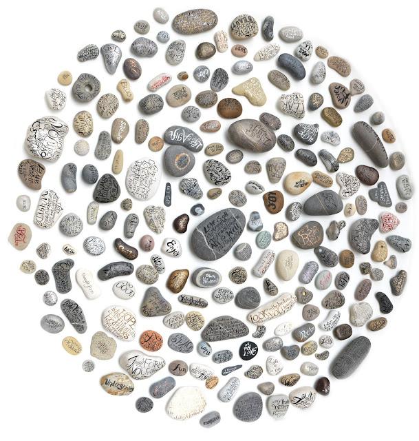 arte con piedras, adornos con piedras, pintar piedras, manualidades con piedras