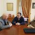 Συνάντηση του Δημάρχου Λαμιέων Νίκου Σταυρογιάννη με τον Αναπληρωτή Διοικητή της 5ης ΥΠΕ Δημήτρη Δημητριάδη και την Υποδιοικήτρια Παρασκευή Ζαζά