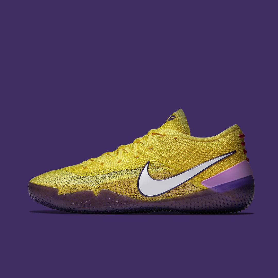 new style 90349 e4d1e Nike Kobe AD NXT 360 in Lakers colorway | Analykix