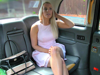 Beautiful blonde gives sexual reward for helpful cab driver – Fake Taxi