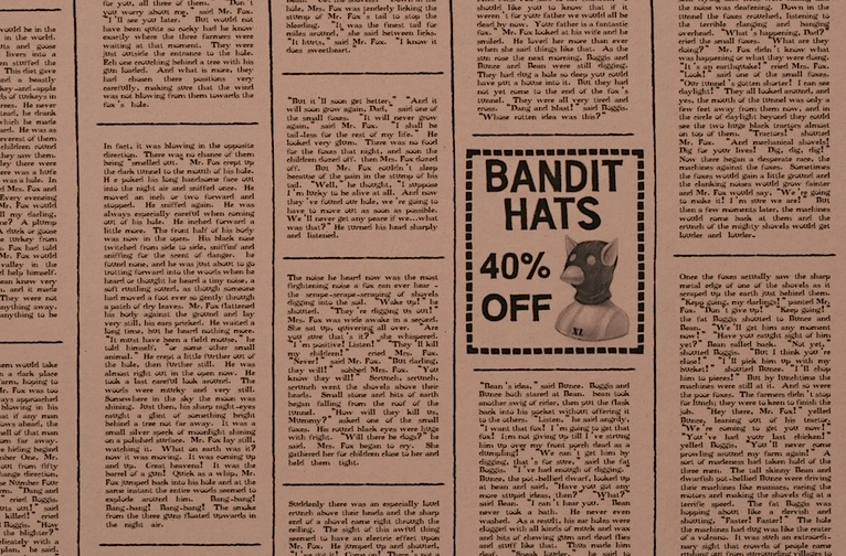 'bandit hats 40% off'