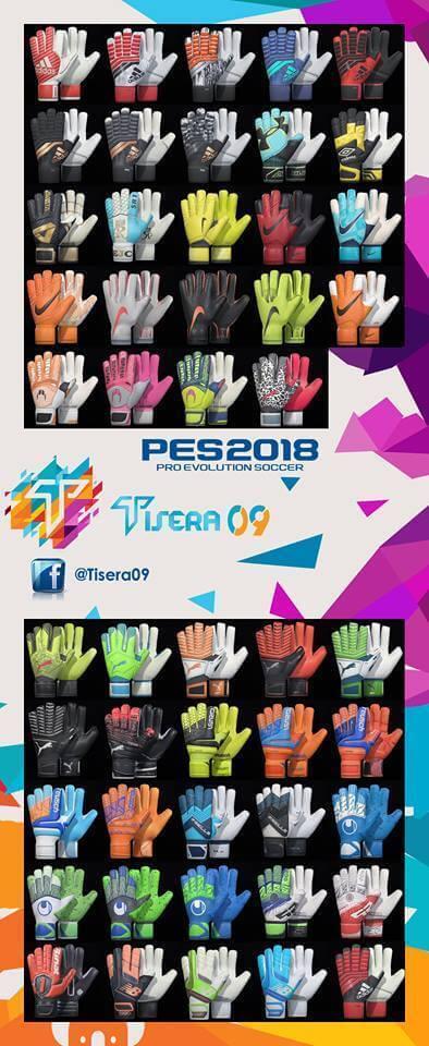 New Glove Pack V2 PES 2018