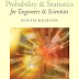 Free E-book: Probability and Statistics with Teacher's Manual and Teacher's Guide