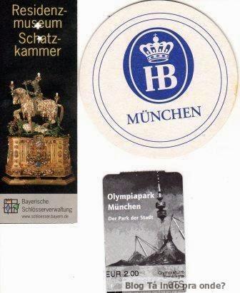entrada de atrações em Munique