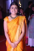 Shalini Pandey in Beautiful Orange Saree Sleeveless Blouse Choli ~  Exclusive Celebrities Galleries 053.JPG