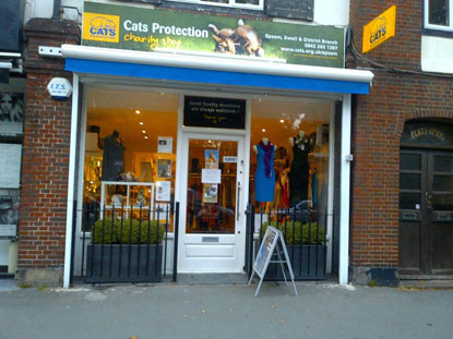 Cats Protection's Banstead Shop