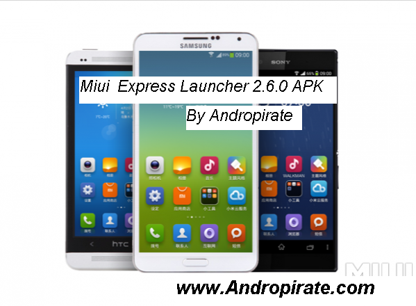Android Solutions: MIUI Express Launcher Lite v2 6 0 APK