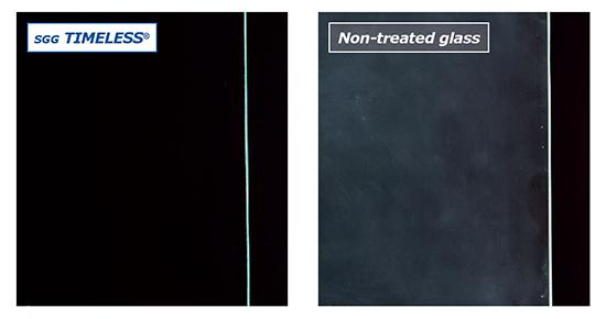 Σύγκριση φθοράς του γυαλιού στο πέρασμα του χρόνου