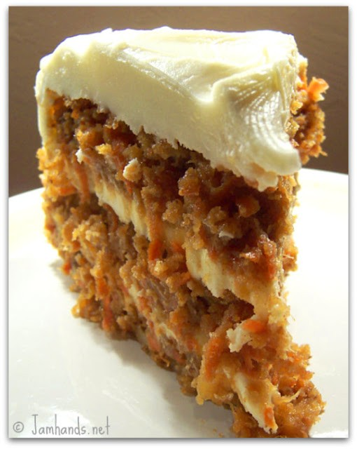 Pineapple Carrot Cake With Brown Butter Frosting