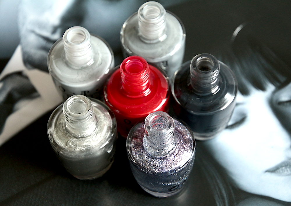 opi collection fifty shades of grey vernis avis test swatches