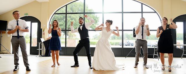 danse pour les mariés, photo fil rouge mariage