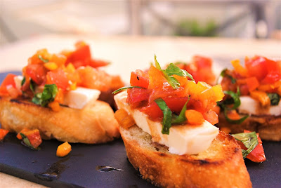 Easy appetizer, Tomato bruschetta recipe, Tomato appetizer, The style Sisters