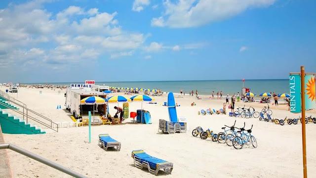 Daytona Beach na Flórida