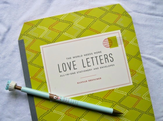 Natalie Patalie The World Needs More Love Letters