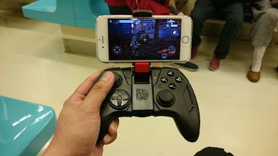 [開箱] CONTOUR iOS專用藍芽無線手遊電競手把 射擊遊戲還是要用搖桿比較好玩 DSC_0018