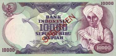 10 ribu rupiah diponegoro