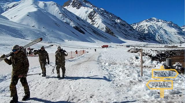 Neve em Mendoza