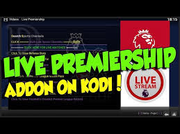 Live Premiership Kodi Addon | Watch EPL & FootBall Online