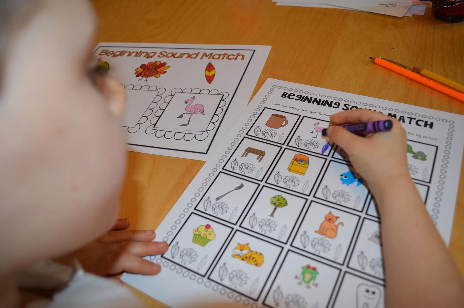 Sarah S First Grade Snippets Kindergarten November