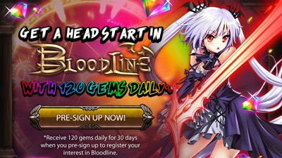 Bloodline Pre-register