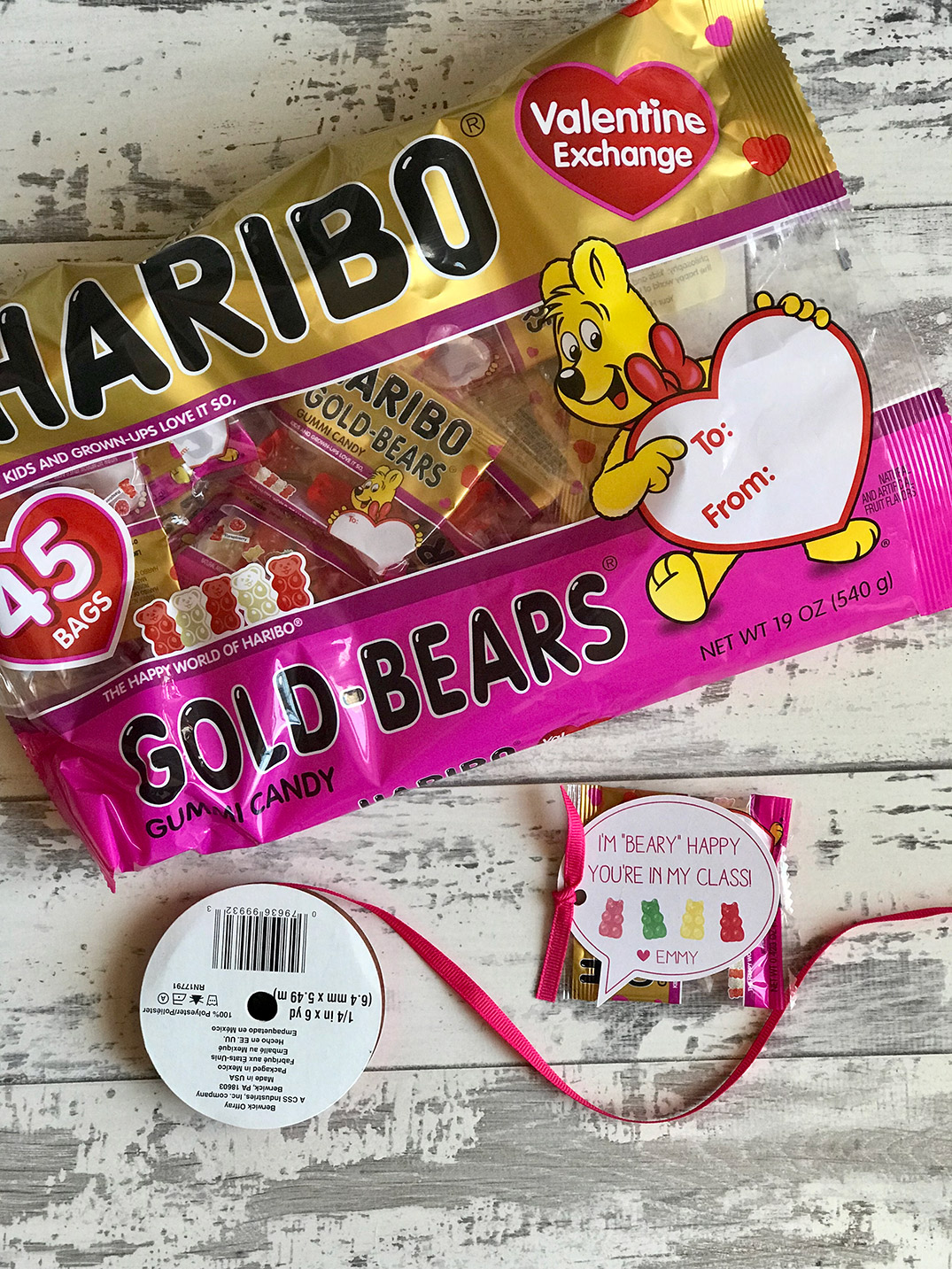 individual gummy bear packs
