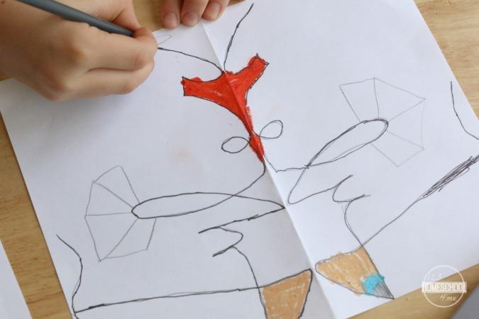 name alien art project for kids