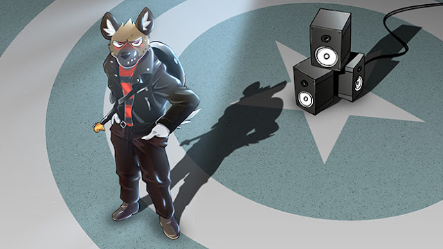 Haida (Aggretsuko) Wallpaper Engine