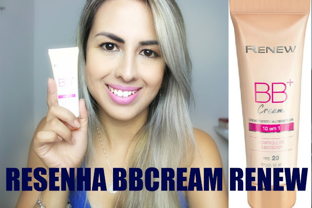 resenha bb cream renew avon