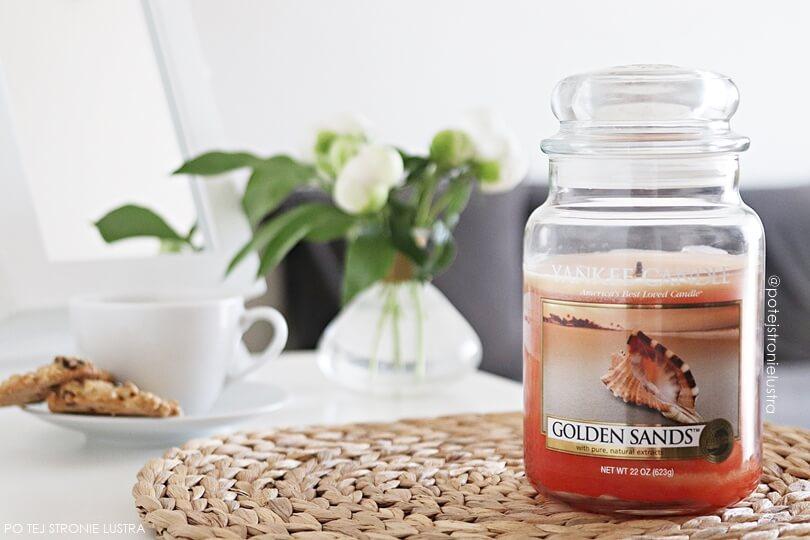 yankee candle golden sands blog