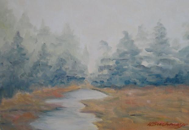 Vermont Art Zine Manchester Center Paintings