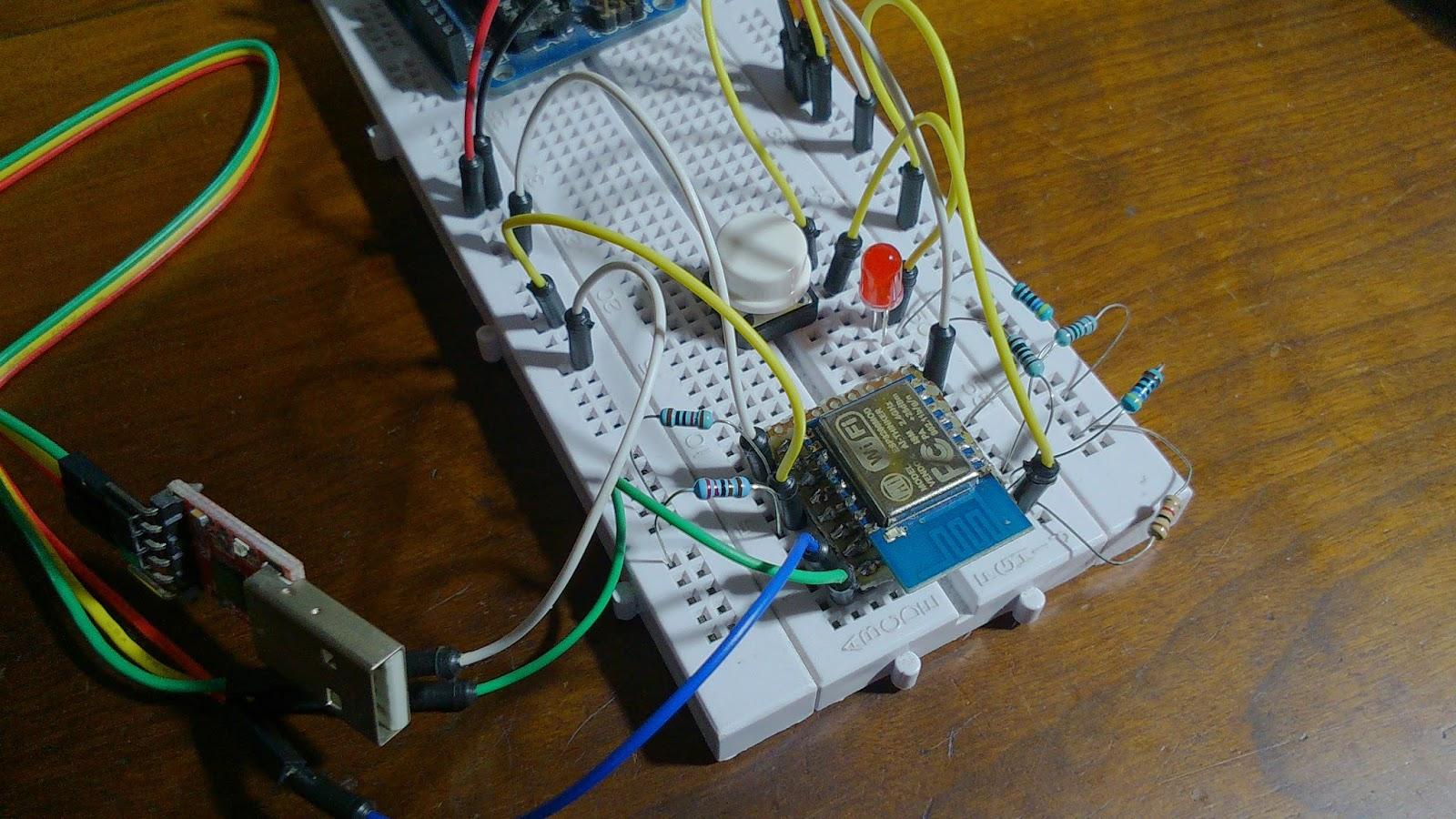 Circuito Wifi : Wifi esp12 esp8266 : programando com a ide do arduino fritzenlab