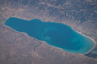 Bear Lake seen from the International Space Station