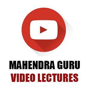 Mahendra Guru Video Lectures | 31.05.18