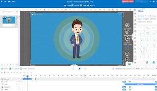 تنزيل برنامج لعمل افلام الكرتون مجانا Animiz Animation Maker