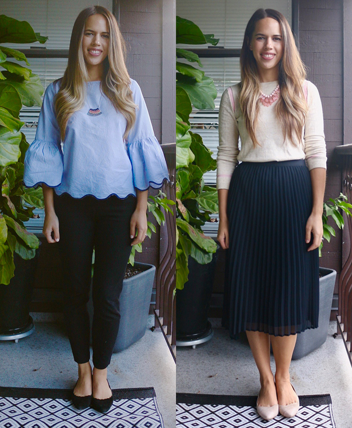 Jules in Flats - September Work Outfits (Business casual workwear on a budget)
