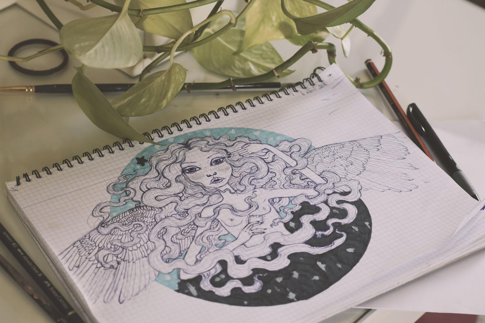 ilustracion angel