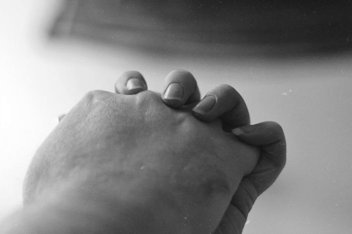 hand holding photo