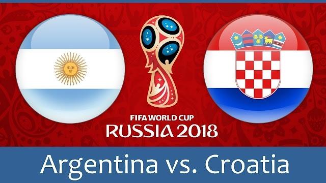 Argentina vs Croatia Full Match Replay 21 June 2018