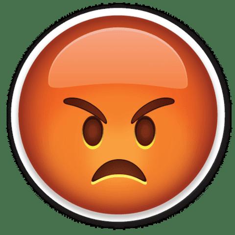 Эмодзи гнев