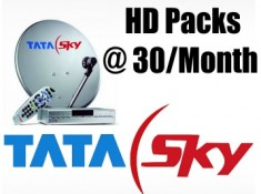 New Launch:-Tata Sky Make My HD Packs at Just Rs. 30/Month