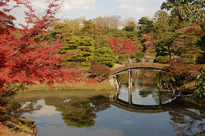 Foliage in giappone i colori del giardino dell 39 imperial for Case del giappone