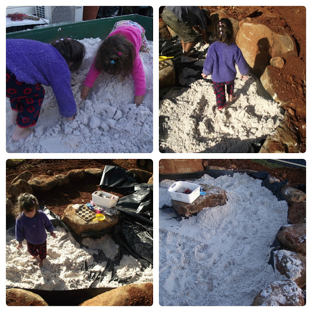 Building a toddler sandpit