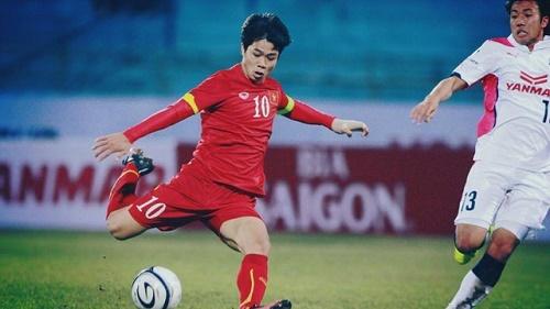 Cầu thủ Công Phượng sẽ phải nỗ lực hơn nữa trong các trận đấu tiếp theo