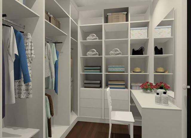 Walk-In Wardrobe from Signature Kitchen - Meridian Interior Design
