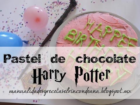 Pastel de cumpleaños hecho por Hagrid