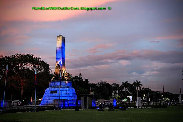Rizal Monument, Rizal Park, Manila, Philippines